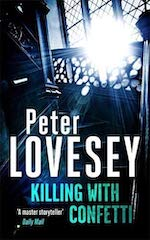 Peter Lovesey Killing With Confetti UK edition