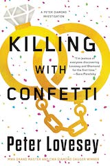 Killing With Confetti Peter Lovesey USA edition